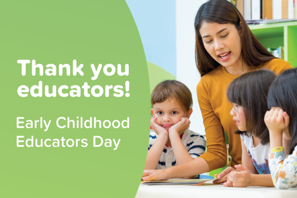 Early Childhood Educator's Day: Saying Thanks