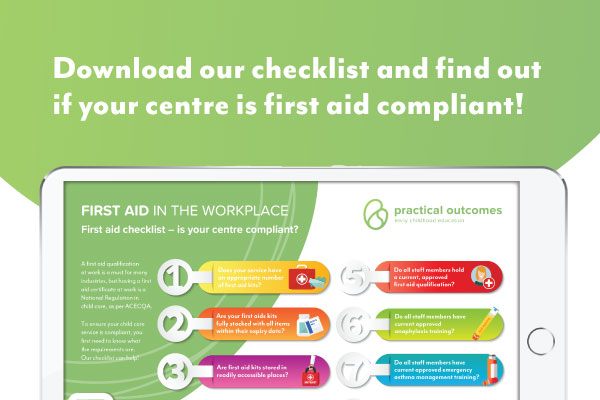 First aid in child care – is your centre compliant?