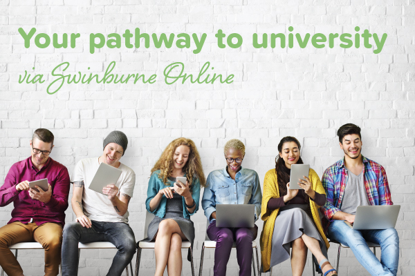 Practical Outcomes' provides a university pathway with Swinburne Online