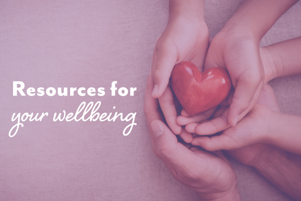 Health and wellbeing resources