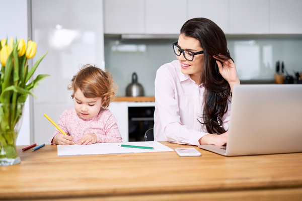 Essential tips for working from home with children