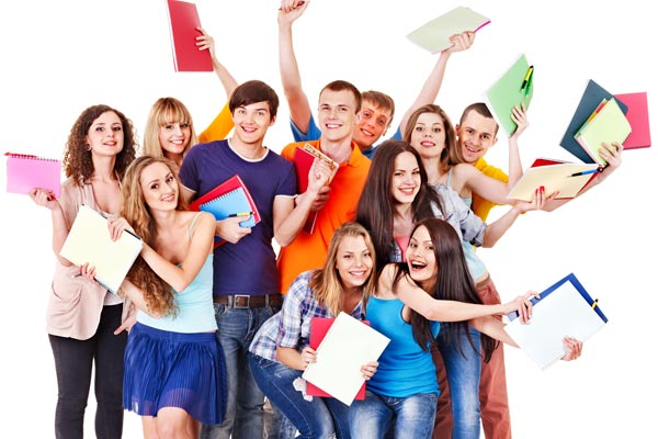 School leavers choosing a career after high school