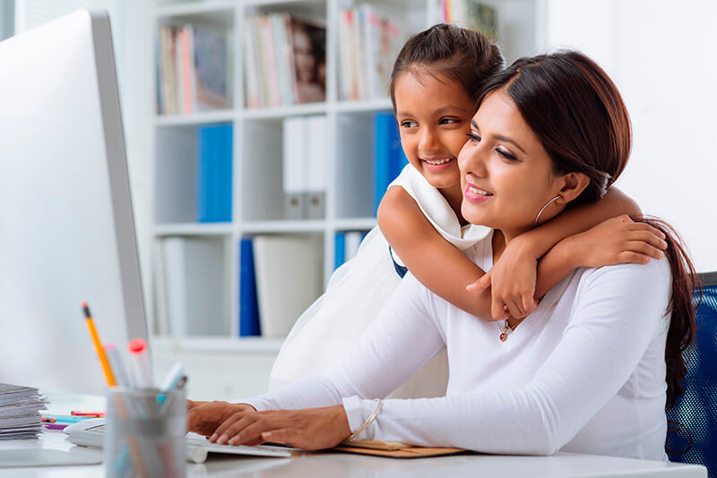 Online childcare courses