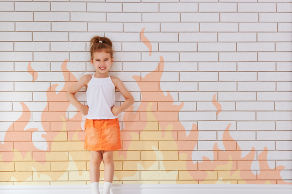 Handling a child's temper and tantrums