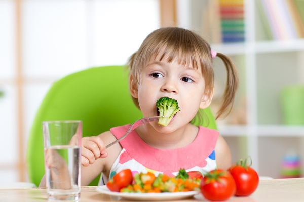 Healthy eating enhances early childhood